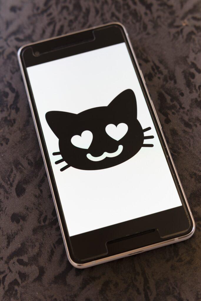 Whatsapp bedeutung lila herz Smileys Bedeutung